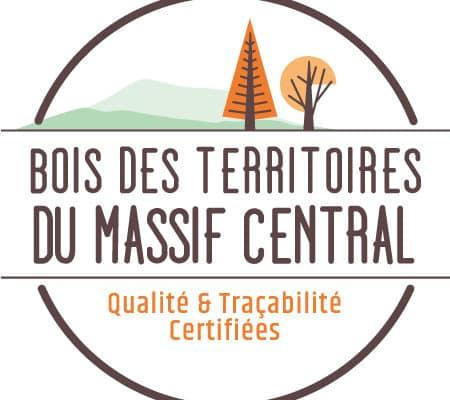Logo de la certification Bois des Territoires du Massif Central